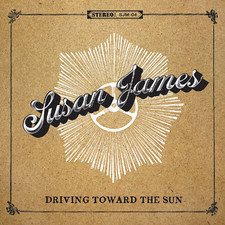 Susan James - Driving toward the sun