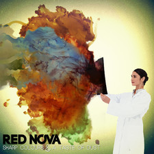 Red Nova - Sharp Colours and a Taste of Dust