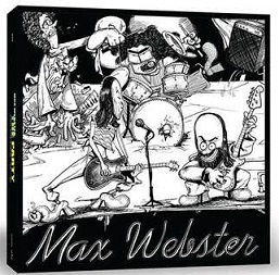 Max Webster - The Party - Box Set